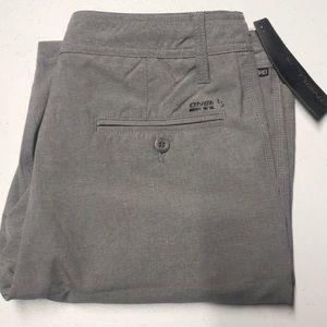 🆕 O'NEILL Mens 30 Hybrid Gray Shorts